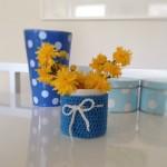 Tutorial: Eine Vase einhäkeln