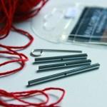Praktisch für Rundstricknadeln: Kabelverbinder von Lana Grossa