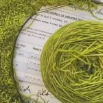 Stricken mit supersupersuperdickem Garn, Garnverlosung und die Sache mit dem Textiler KIK