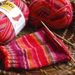 Schachenmayr Regia Color: Schöne Farbeffekte mit selbstmusternder Sockenwolle