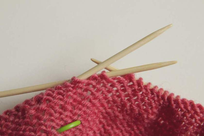 Socken stricken Tutorial 4