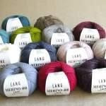 Merino 400 Lace von Lang Yarns – schöne Farben für viele Kombis