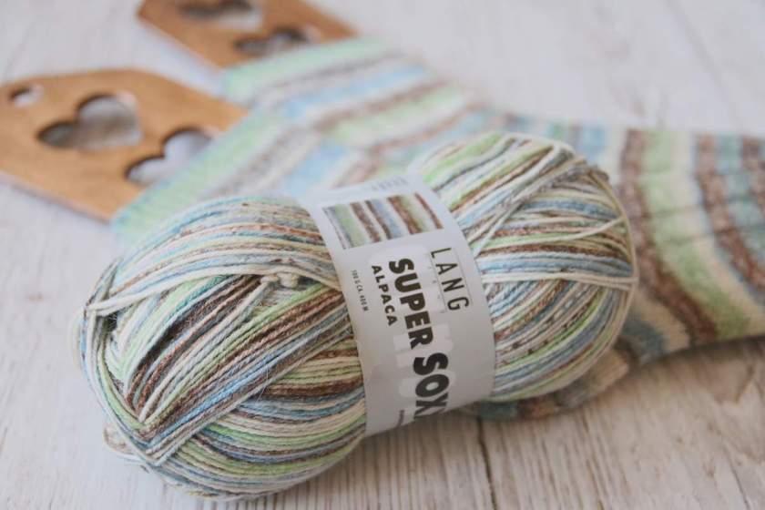 Super Soxx Alpaka von Lang Yarns Farbe 154