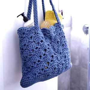 Cotton Jersey Badetasche