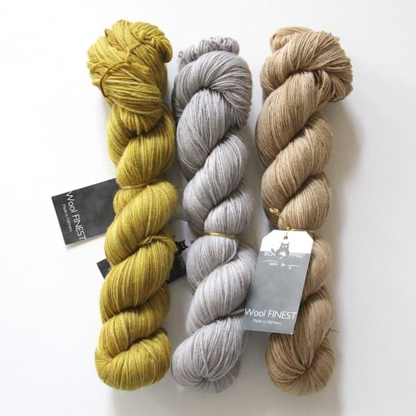 Wool Finest Trio