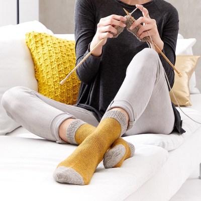 Regia Premium Yak Zweifarbige Socken