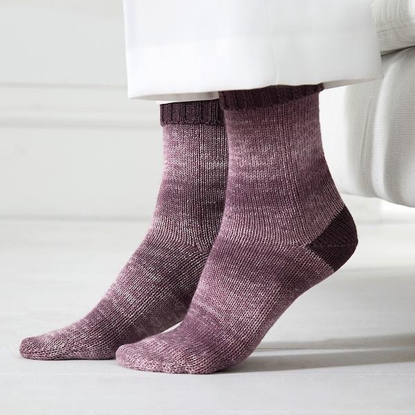 Regia Silk Color Zweifarbige Socken