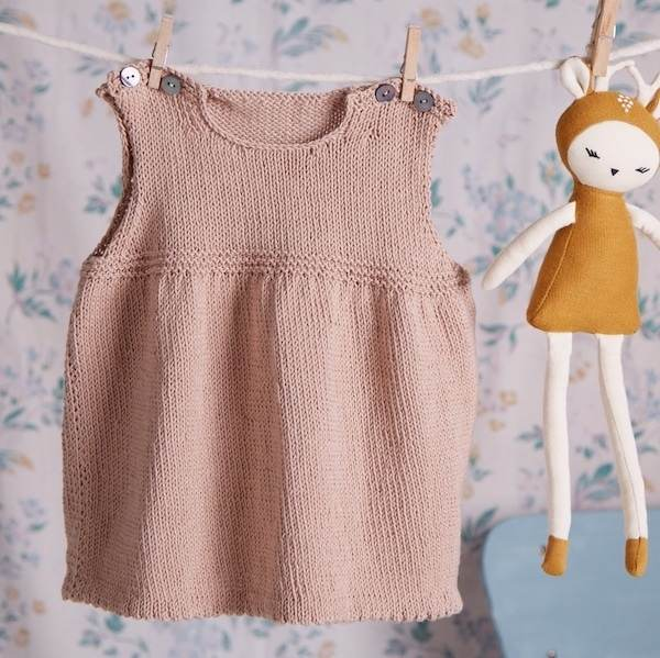 Erika Knight Baby Pinafore Dress