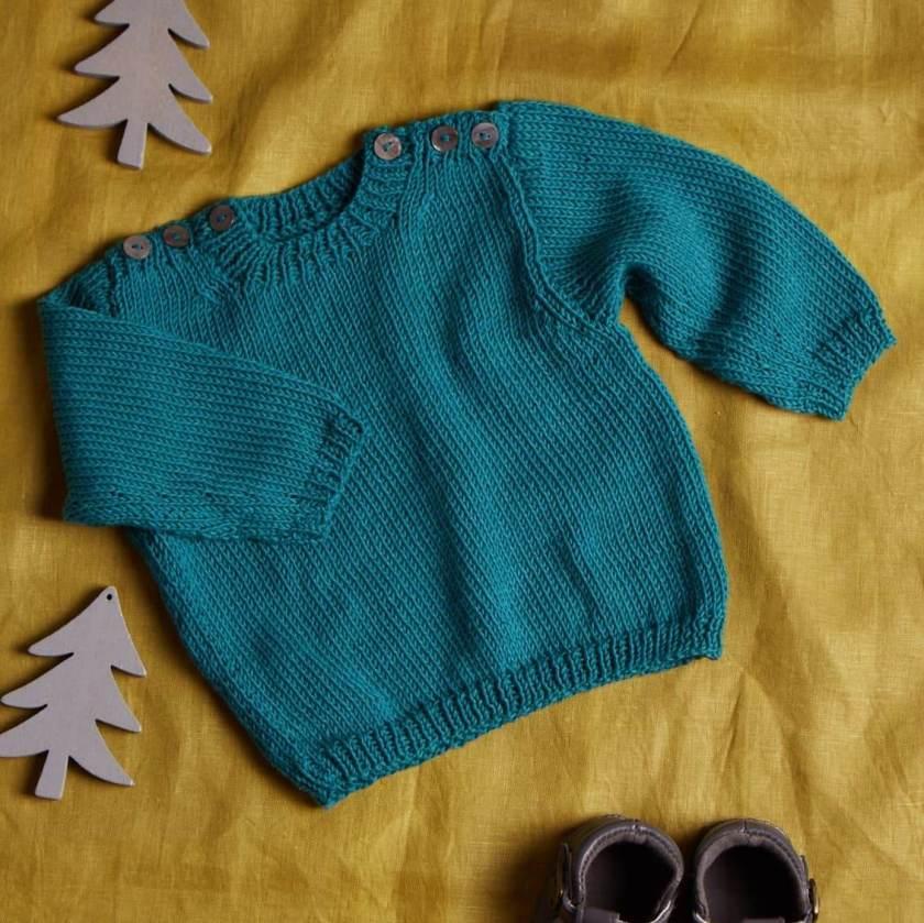 Erika Knight Baby Sweater
