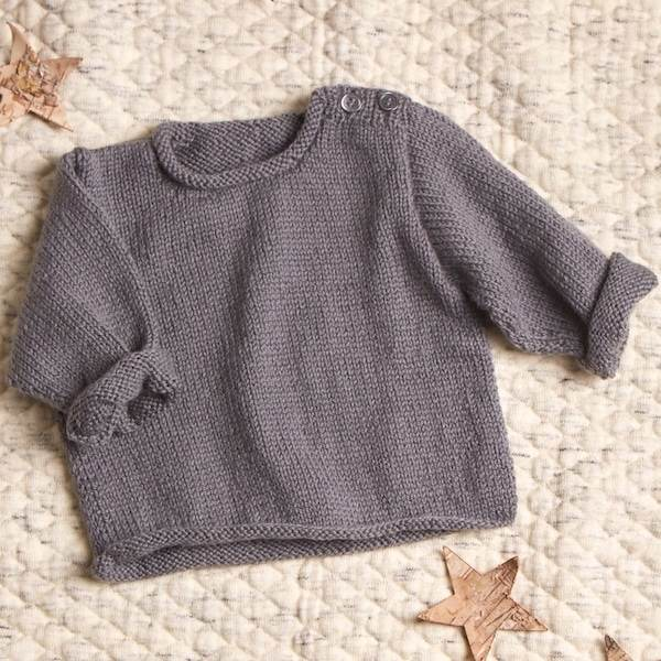 Erika Knight Baby Sweater