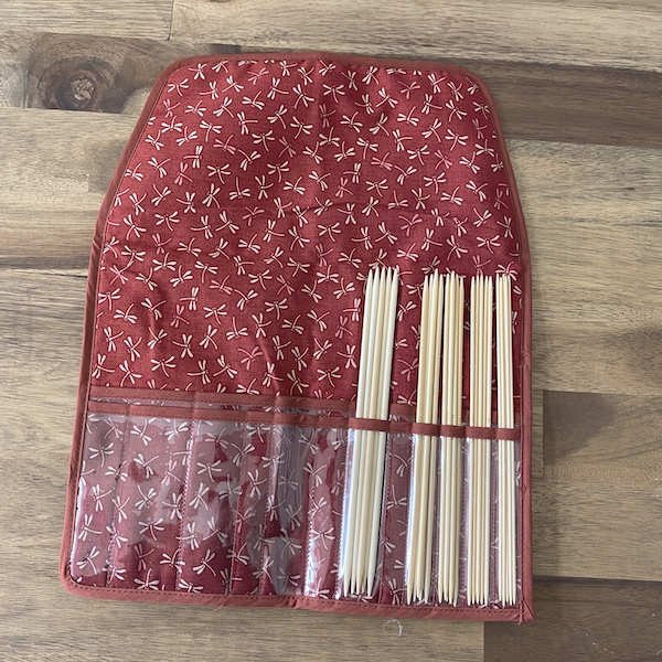 eeknit Shirotake Nadelspiel Set 20cm Rot