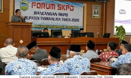 Musrenbang RKPD Kab. Tasikmalaya Tahun 2020, Bupati Tegaskan: Program Pemerintah Harus Mengedepankan Pro-Rakyat