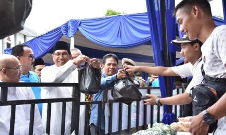 Wakil Walikota Tasik Membuka Secara Resmi Pasar Murah Rakyat 2019