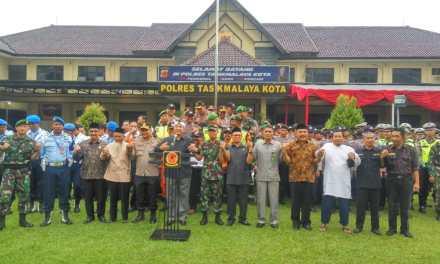 Walikota Tasikmalaya Hadiri Apel Konsolidasi Operasi Ketupat Lodaya 2019