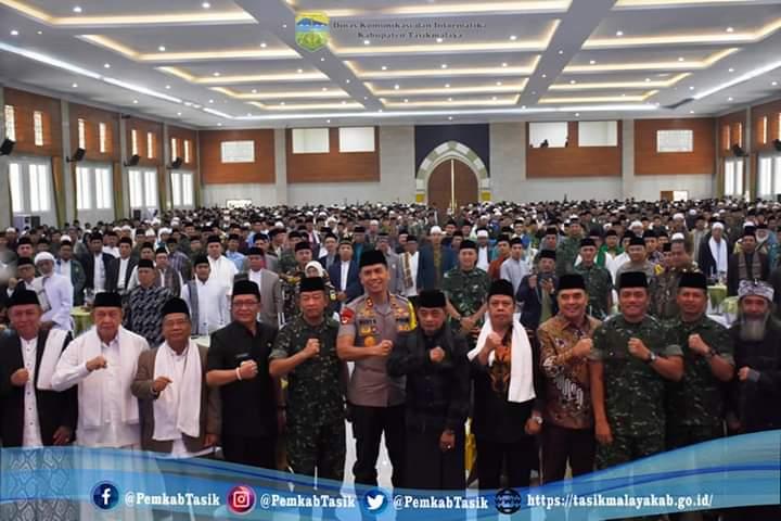 Silaturahim Bersama Ulama Se-Jabar dan Banten Dalam Rangka Menjaga Kondusifitas Pasca Pileg dan Pilpres