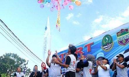 Gerak Jalan Sehat Warnai Peringatan Hari Jadi Kab. Ciamis Ke-377