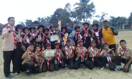 SDN Pasirjaya Raih Juara 1 PA/PI Lomba Perkemahan Tingkat 2