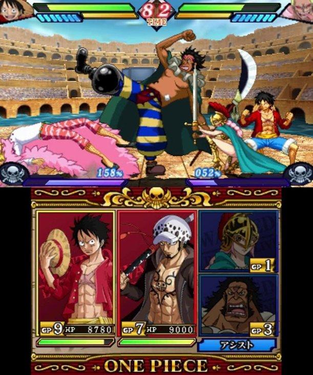 One Piece Grate Pirate Colosseum