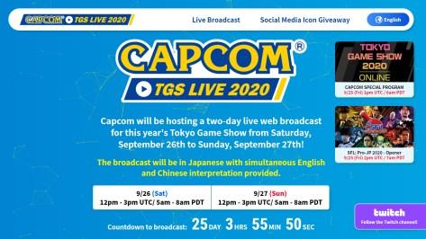 La imagen tiene un atributo ALT vacío; su nombre de archivo es Capcom-TGS-2020_09-01-20.jpg