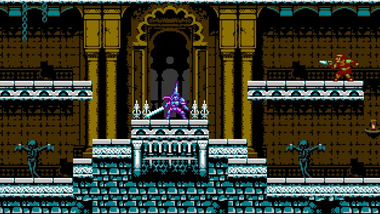 Blasphemous crossover colaboración Bloodstained: Ritual of the Night Strife and Ruin 8-bit