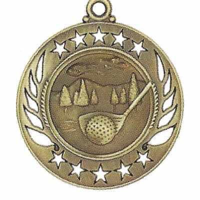 High End Golf Medal