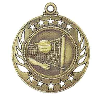 High End Volleyball Medal
