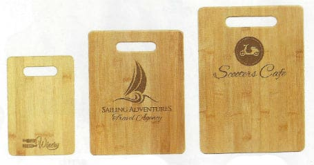 Laser Engraved bamboo Cutting Boards