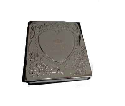 Engraved Silver Photo Album