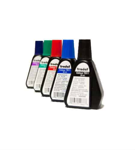 Ink Bottles for Rubber Stamps