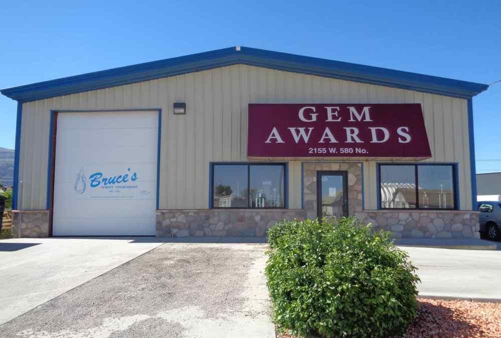 Gem Awards Trophy Shop in Cedar City Utah