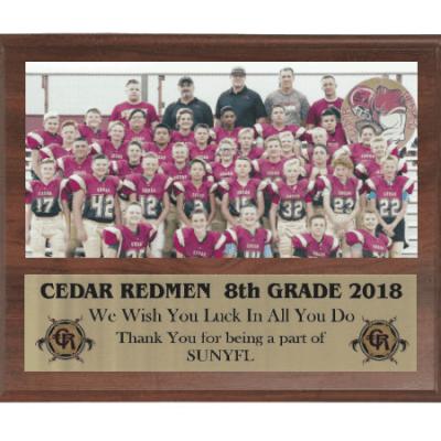 sports team plaque honor coaches sponsors athletes gem awards