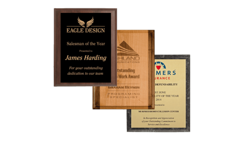 Use Custom Plaques to Brand Your Business