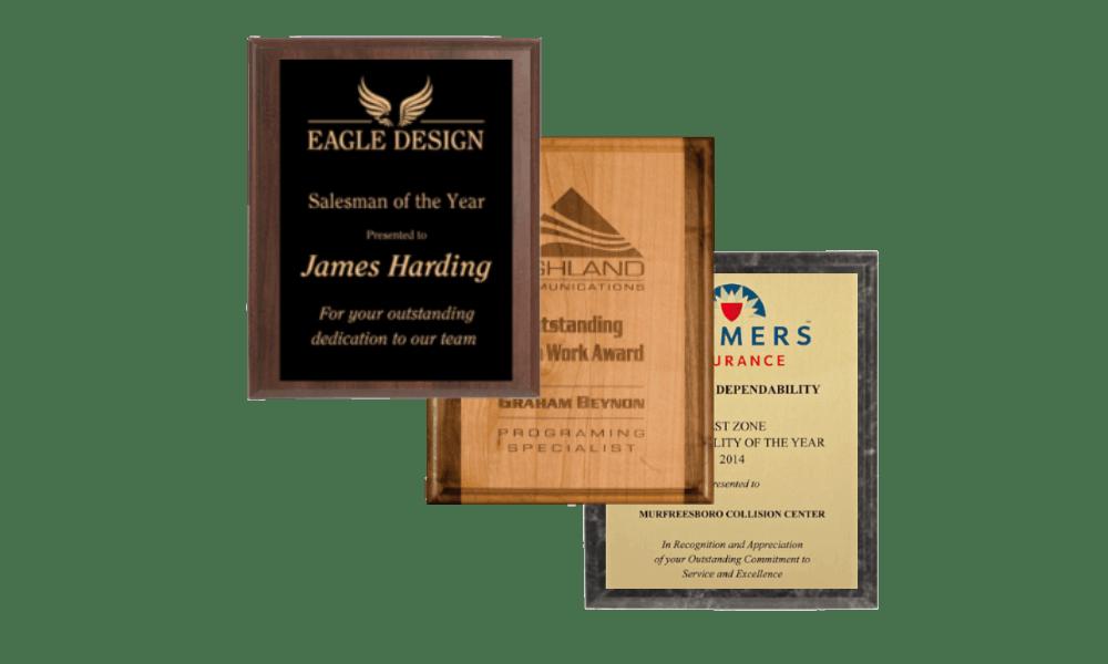 Custom Plaques