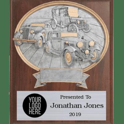 Antique Car Show Plaque
