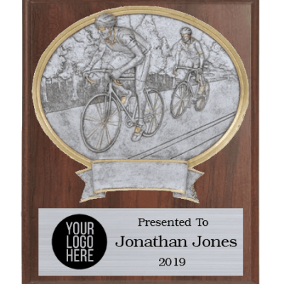 Legends Cycling Plaque