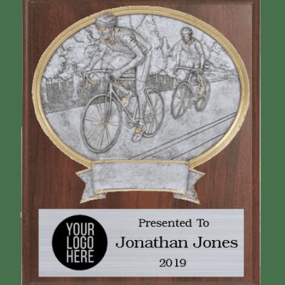 Legends Cycling Plaque