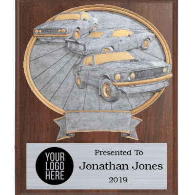 Muscle Cars Plaque
