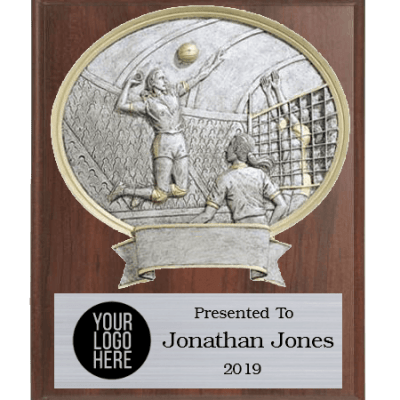 Legends Volleyball Plaque Female