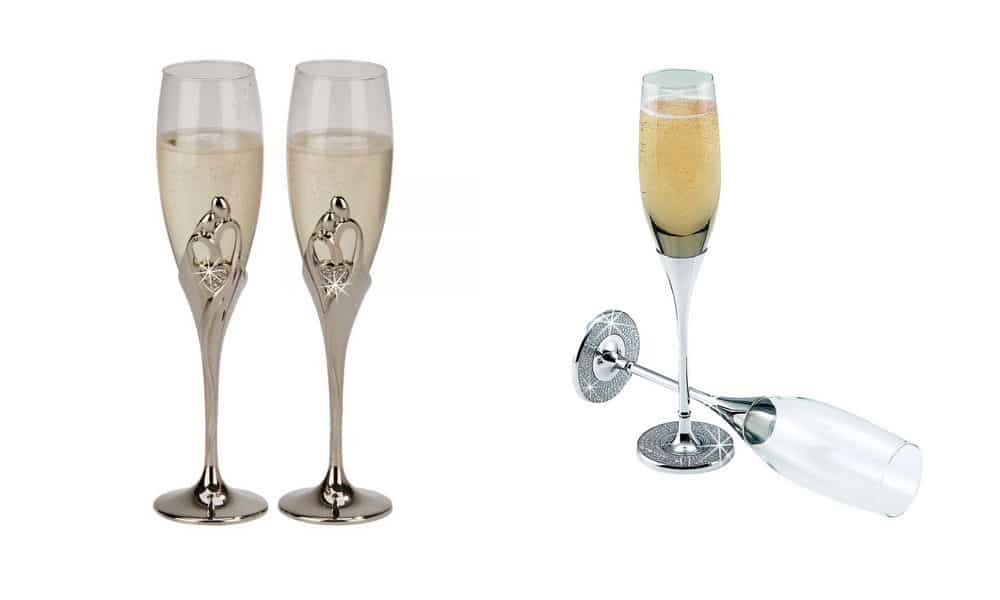 Best Wedding Glasses & Toasting Flutes for the Big Day
