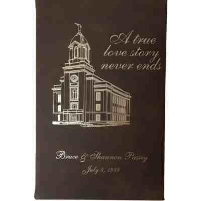 LDS Wedding Journal