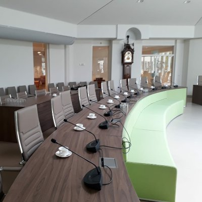 Opening raadzaal gemeentehuis Hendrik-Ido-Ambacht