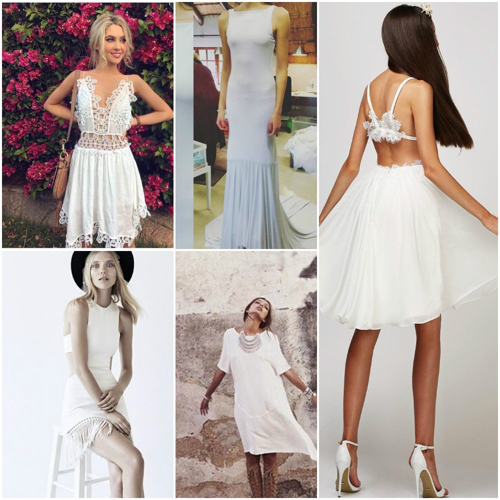 simple wedding dresses informal