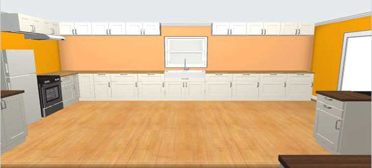Virtual Kitchen Floor Designer