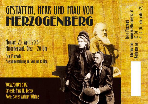 Herzogenberg Eintrittskarte DIN A7 23.4. Druck-1