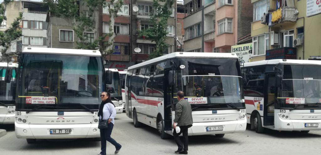 Otobüslerin Kalkış Yerleri Değişti