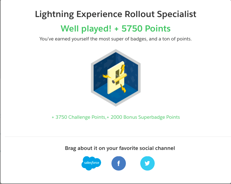 Tips for Passing the Lightning Experience Rollout Specialist Superbadge