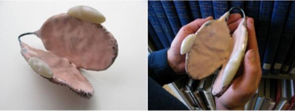 1. apertura1. copper, enamel, acrilyc