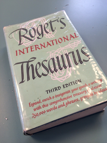 thesaurus 1