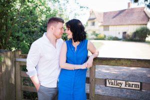 Flatford Mill, engagement shoot, Suffolk