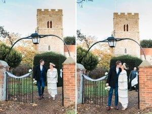 Mersea Island church wedding